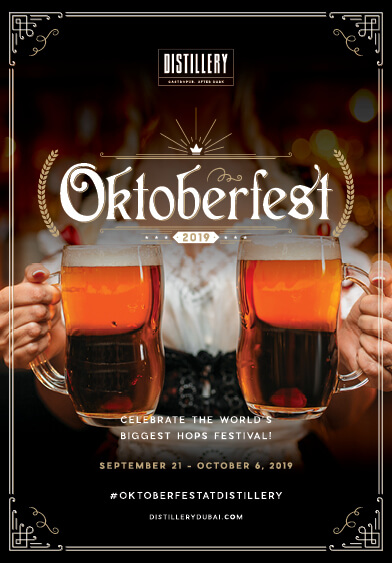 Oktoberfest - Distillery Gastropub. After Dark