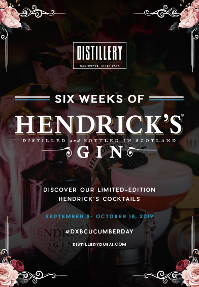Six Weeks of Hendrick's Gin - Distillery Gastropub. After Dark