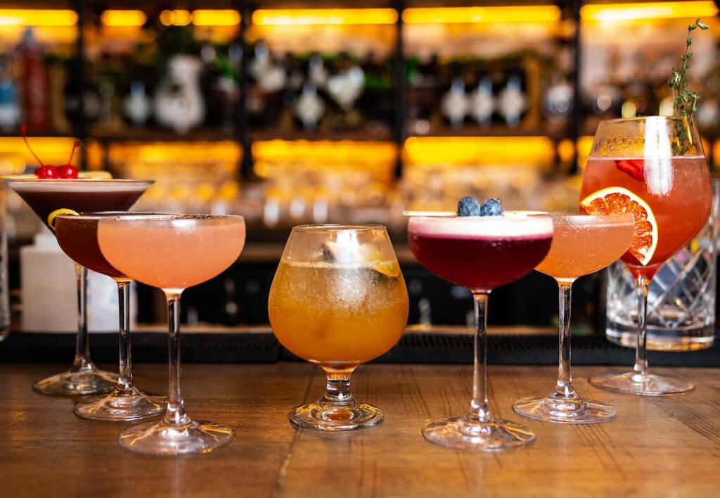 Drink Pink - Distillery Gastropub. After Dark