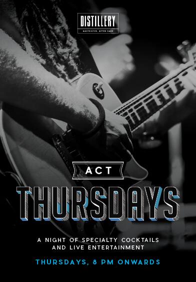 Act Thursday - Distillery