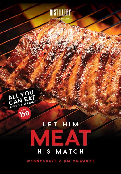 Let Him Meat His Match - Distillery Gastropub. After Dark