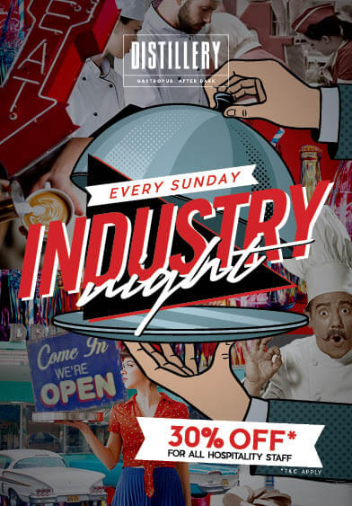 Industry Night at Distillery Dubai