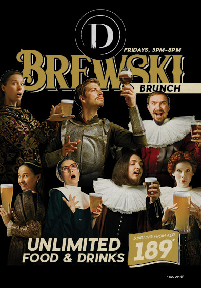 Brewski Brunch at Distillery