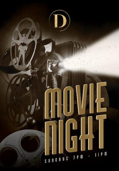 Movie Night at Distillery