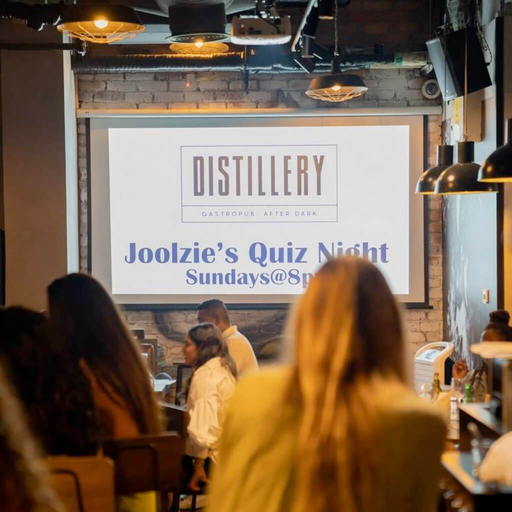 Quiz Night at Distillery Dubai
